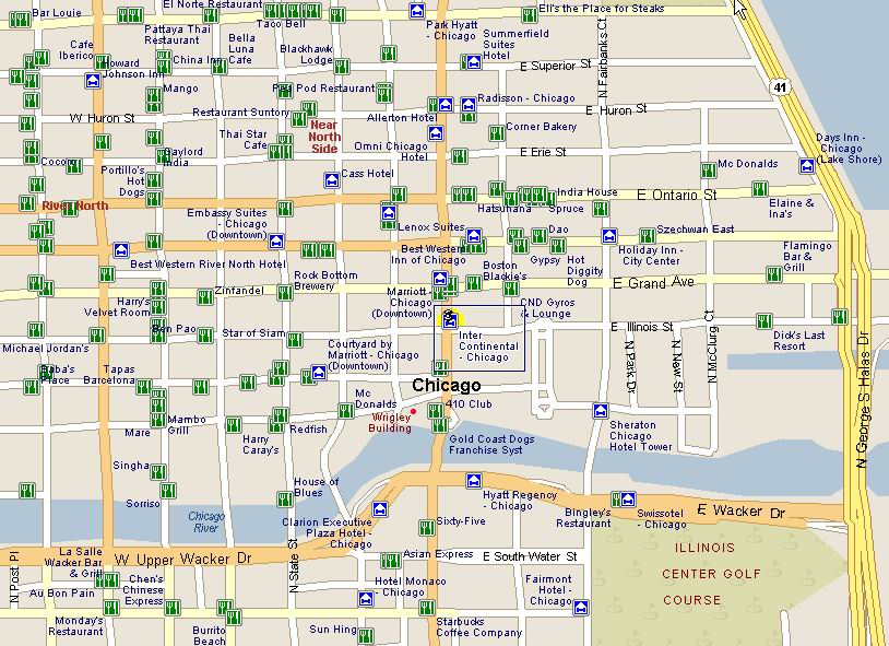 Chicago Map Tourist – Tourist Map Of Downtown Chicago